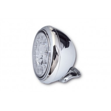 Reflektor LED Highsider HD-STYLE TYP 1 (3 funkcje, chromowany)