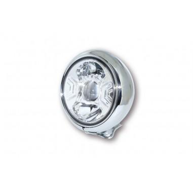 Reflektor LED Highsider HD-STYLE TYP 2 (3 funkcje, chromowany)