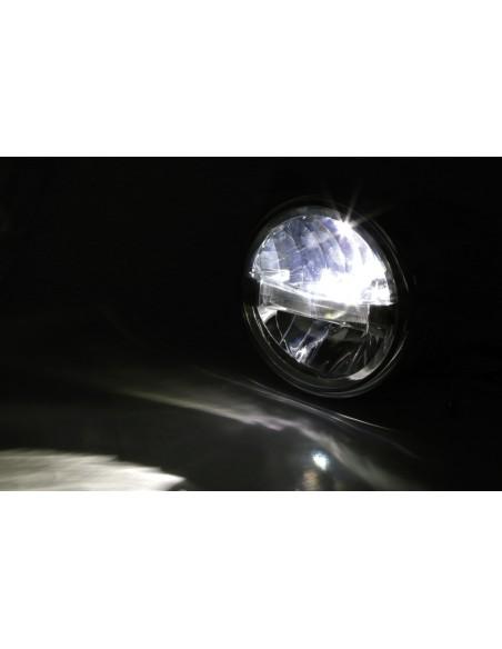 Reflektor LED Highsider BRITISH-STYLE TYP 4 (4 funkcje, chromowany)