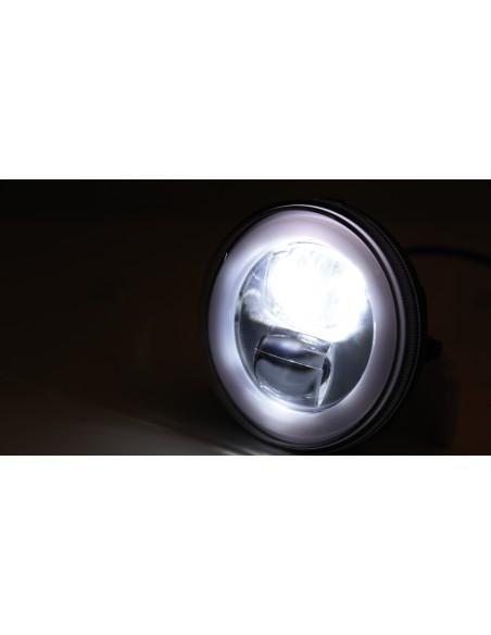 Reflektor LED Highsider FLAT TYP 9 (3 funkcje, chromowany)